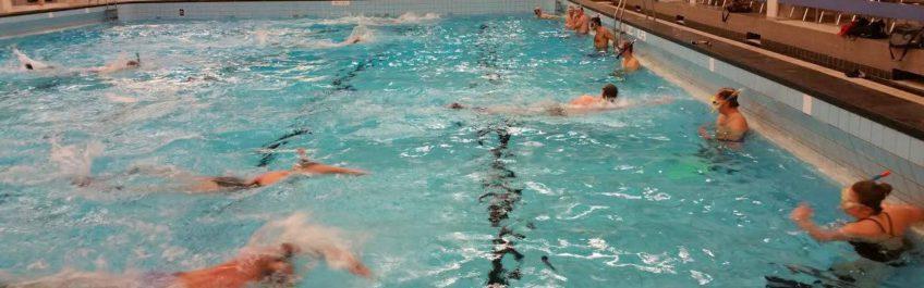 Zwembad training